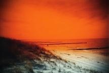 Orangenstrand