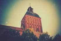 Home, or my church tower, as my mum would metaphorically say