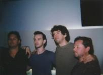 Snow Patrol getroffen!! +++ Met the guys from Snow Patrol!!