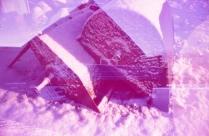 Doppelbelichtung in pink, die Zweite