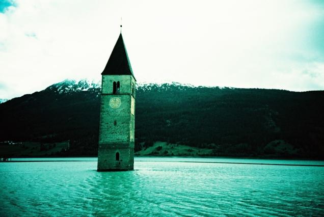 """""""Der Turm im See"""", Altgraun"""