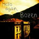 Zurück in Bozen